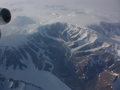 Transantarctic Mountain Glacier