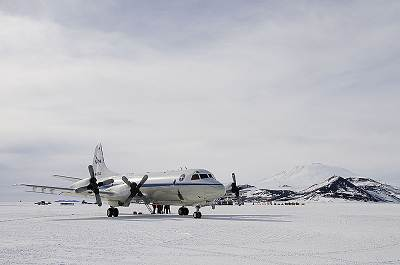 P-3 at McMurdo Station, Antarctica